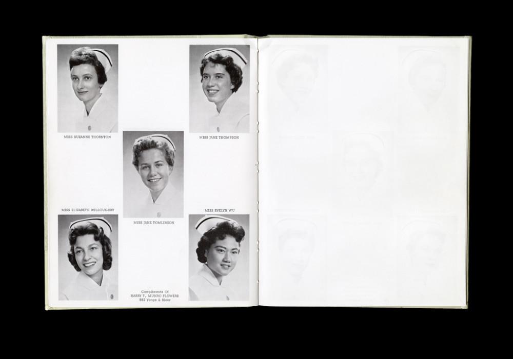 Women's College Hospital School of Nursing Graduates,1959 Yearbook