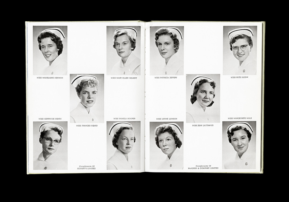 Women's College Hospital School of Nursing Graduates,1959 Yearbook