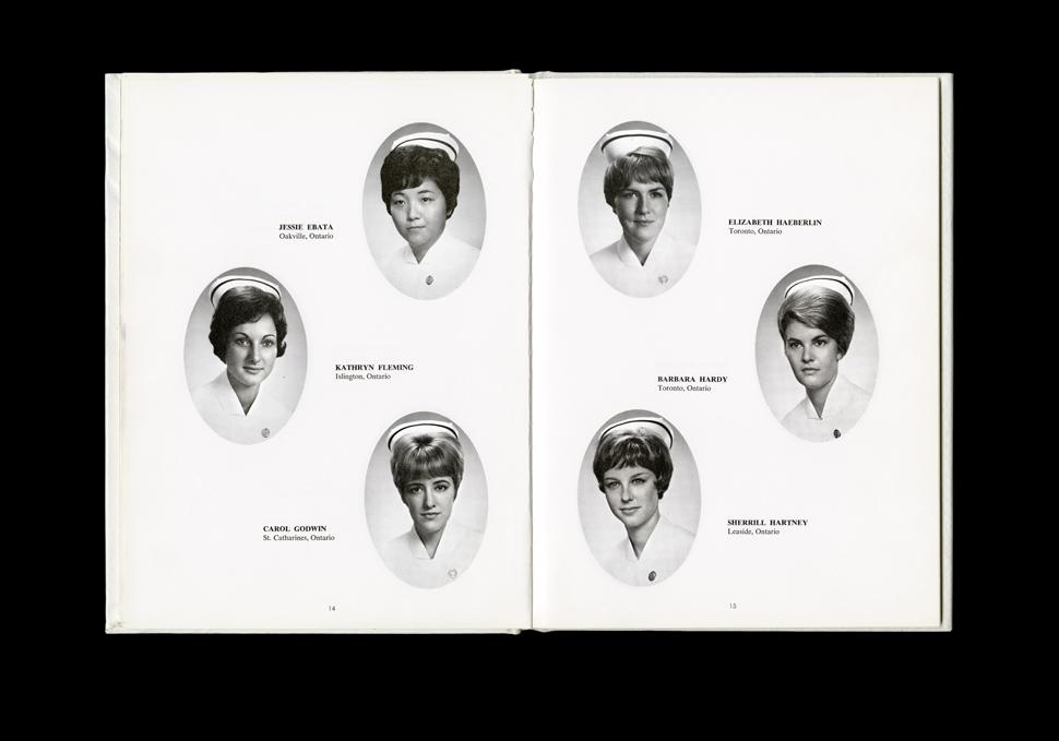 Women's College Hospital School of Nursing Graduates,1966 Yearbook