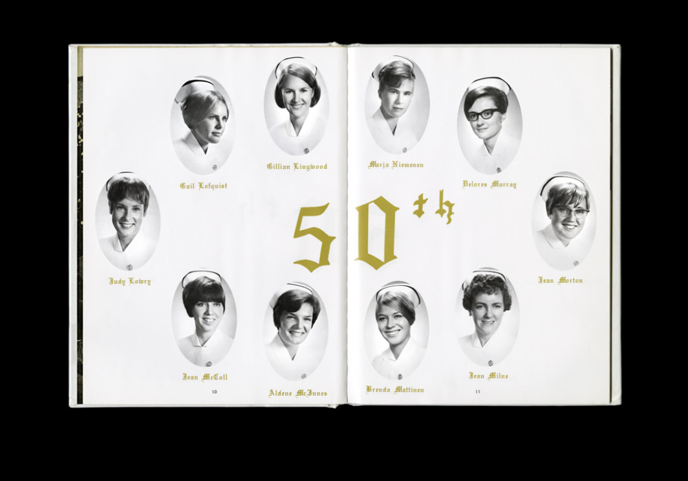 Women's College Hospital School of Nursing Graduates,1967 Yearbook