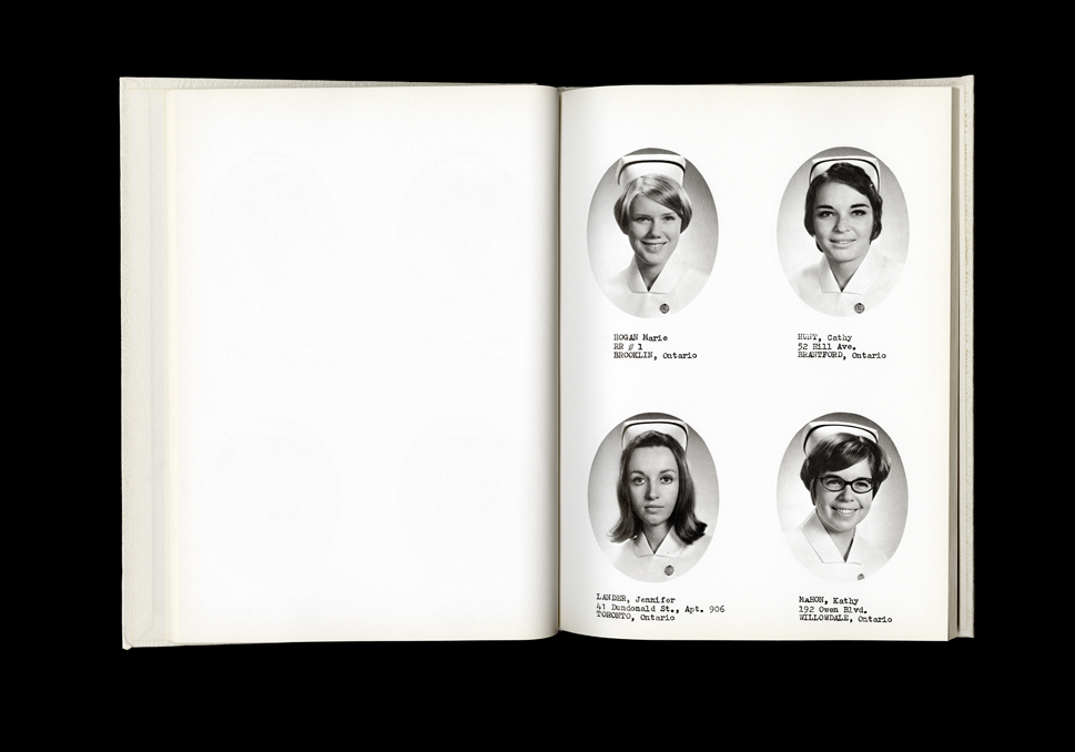 Women's College Hospital School of Nursing Graduates,1970 Yearbook