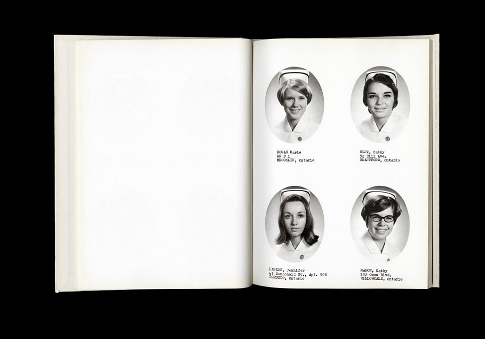 Women's College Hospital School of Nursing Graduates,1970 Yearbook