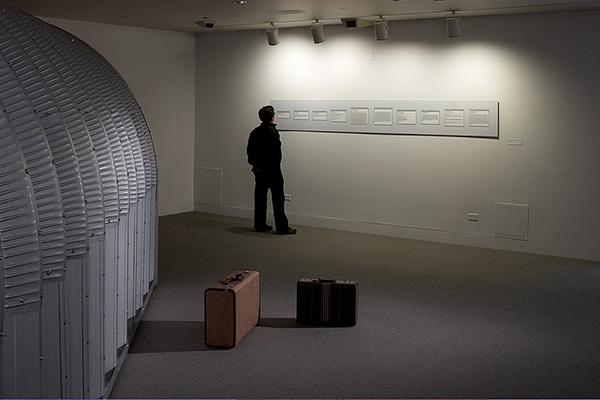 Correspondence with David White, Installation view